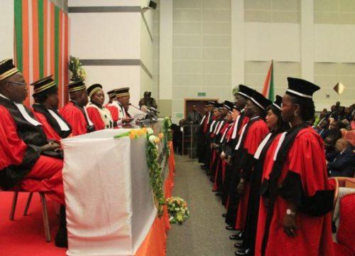 Audience de rentrée solennelle de la cour d'appel de commerce d'Abidjan.