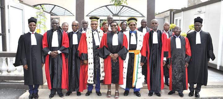 Installation de Conseillers Consulaires à la Cour d'Appel de Commerce d'Abidjan le jeudi 27 février 2020